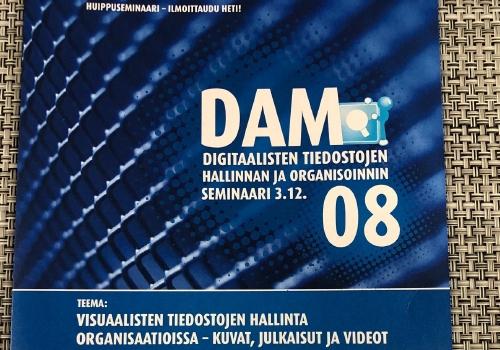 DAM 08 seminar brochure