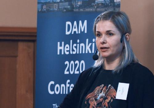 Sandra Sundbäck, SOK Oy presents Insights of implementations of large DAM projects