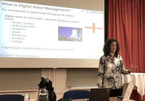 Theresa Regli at the DAM Helsinki 2020 workshop